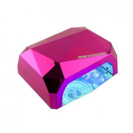 УФ LED+CCFL лампа (таймер 10, 30, 60 сек) 36 Вт (сиреневая)