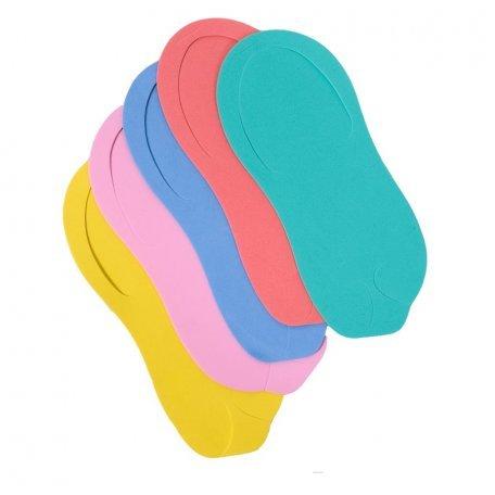 Одноразовая обувь - Одноразовые тапочки для салонов 12 пар в упаковке (цвета в асортименте )