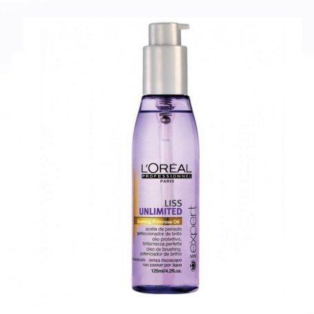 Масло для волос - Разглаживающее термозащитное масло для непослушных волос L'Oreal Professionnel Liss 125 мл