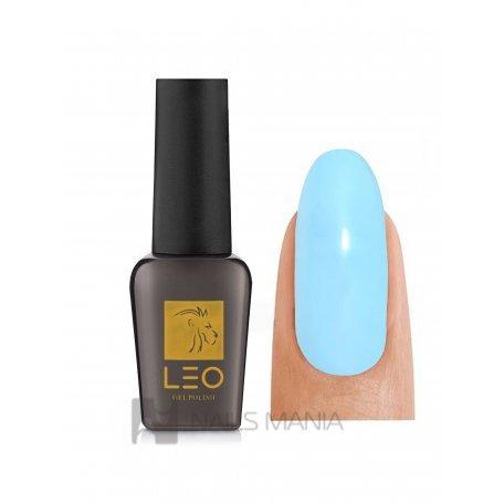 Гель-лаки LEO - Гель-лак Leo №068 (бледный голубой, эмаль), 9 мл