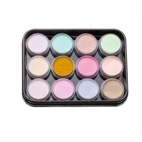 Наборы акрилов - Набор цветных акрилов L3 (12 шт)