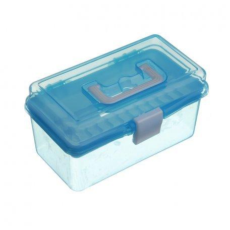 Аксессуары для маникюра и педикюра - Пластиковый кейс Y.R.E (голубой)