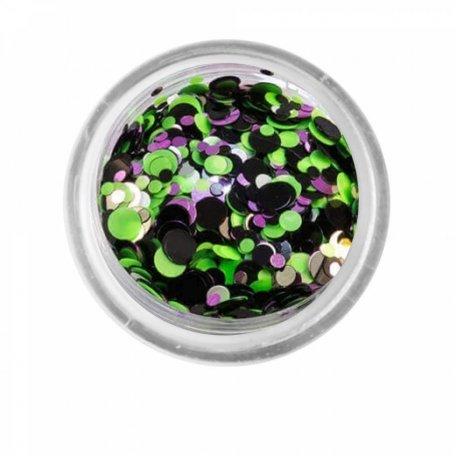 Конфетти для декора ногтей - Камифубуки (конфетти) PNB 04/ Seguins 04, 1 г