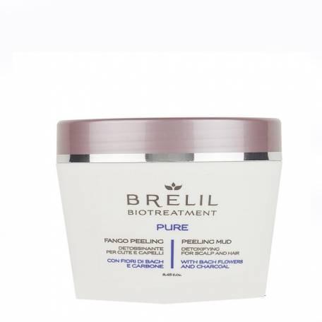 Купить Пилинг Brelil Professional грязевой для волос и кожи головы 250 мл