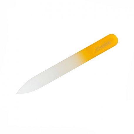 Пилка для ногтей хрустальная в чехле Niegelon 105 мм 1052