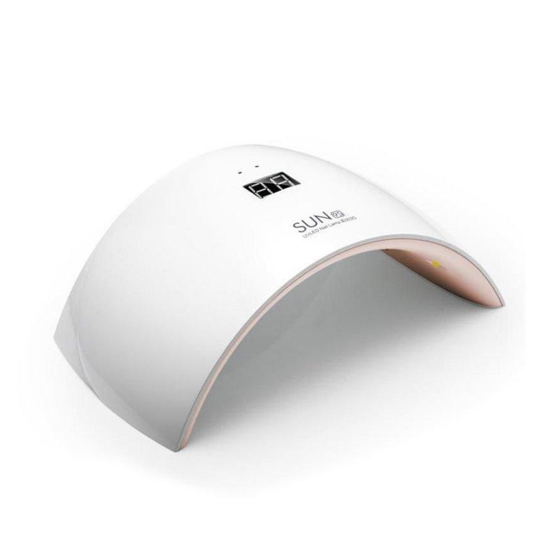 Уф LED лампы для маникюра - UF/LED лампа SUN9 S Professional  24 ВТ (белая)