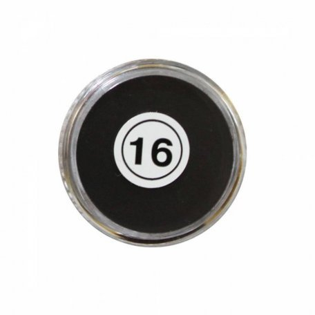Акриловая пудра My Nail №16, черная 2 г