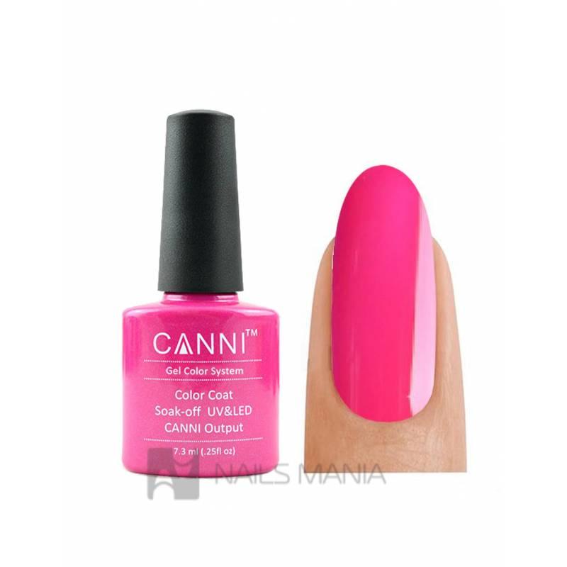 Купить Гель-лак CANNI №112 (яркий розовый, эмаль), 7.3 мл