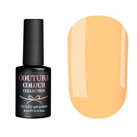 Гель-лак Couture Colour №011 (оранжевый, эмаль), 9 мл
