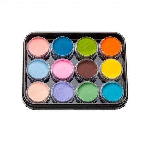 Наборы акрилов - Набор цветных акрилов L4 (12 шт)