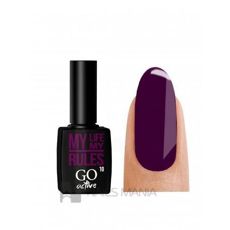 Гель-лак GO ACTIVE 010 (Фиолетовый), 10 мл