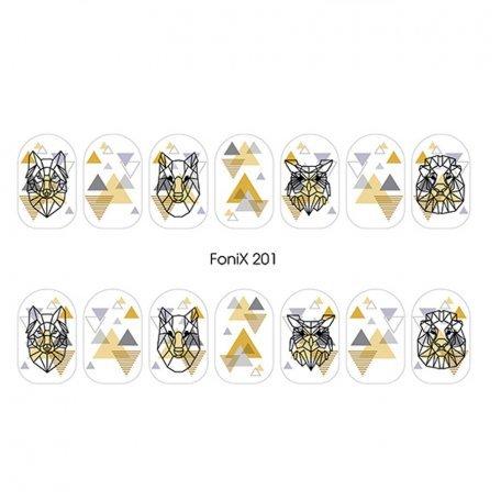 Слайдер дизайн для ногтей  FoniX 201