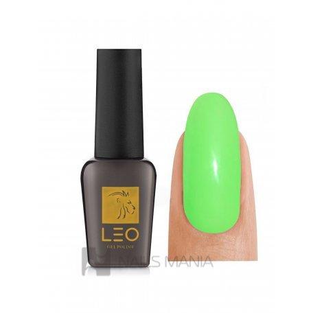 Гель-лаки LEO - Гель-лак Leo №069 (яркий салатовый, эмаль), 9 мл