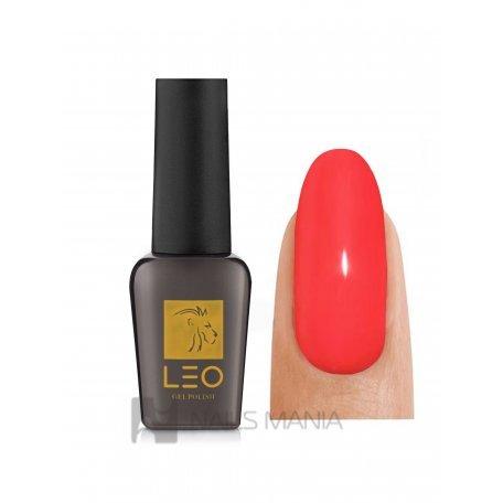 Гель-лаки LEO - Гель-лак Leo №015 (насыщенный кораллово-красный, эмаль), 9 мл