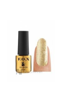 Гель-лак F.O.X. №048 (Золотой), 6 ml