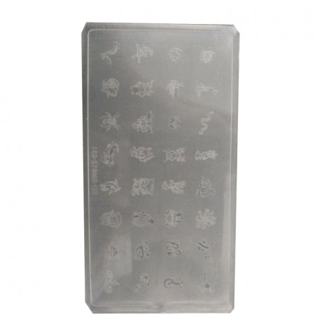 Пластина для стемпинга KD-SM612-031, пластик