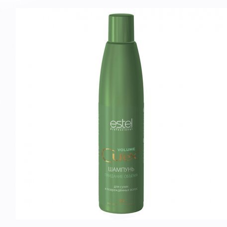 Купить Estel Curex Volume шампунь для придания объема для сухих и поврежденных волос, 300 мл