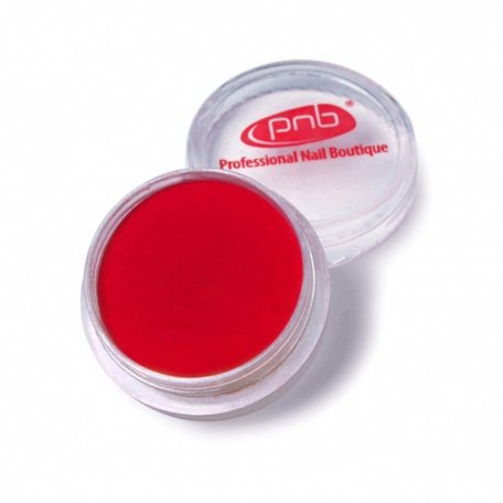 Цветная акриловая пудра PNB 05, красная  2 г