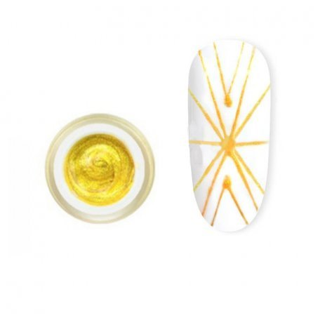 Купити Гель-павутинка Canni Spider Gel / 3D Embossing gel - 03 золото 8 мл