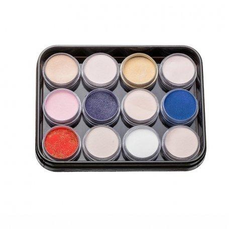 Наборы акрилов - Набор цветных акрилов L5 (12 шт)