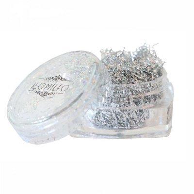 Komilfo Foil Stripes №02 Silver, (0,2 г)