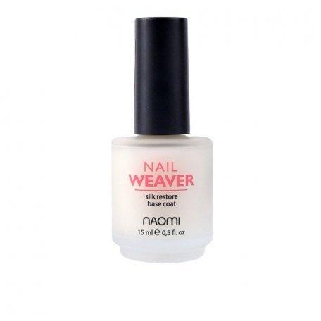 Лечебные лаки для ногтей и кутикулы - База восстанавливающая для лака Naomi Nail Weaver, 15 мл
