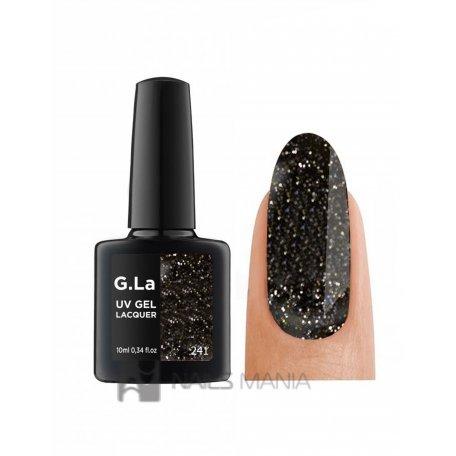 Гель-лак G.La color UV Gel Lacquer 241 (Черный), 10 мл