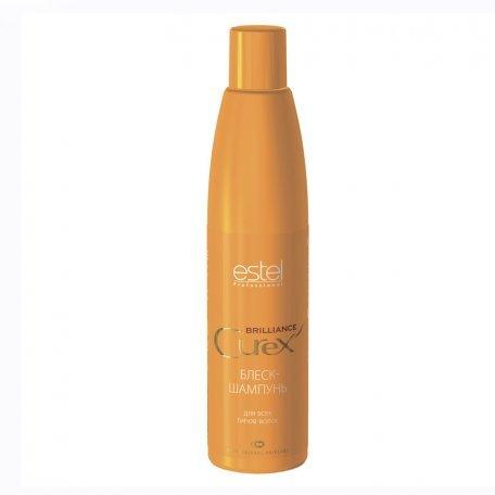 Estel Curex Brilliance блеск-шампунь для всех типов волос, 300 мл