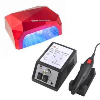 Набор лампа Diamond 36W + фрезер Lina Mercedes 20 000 об/мин