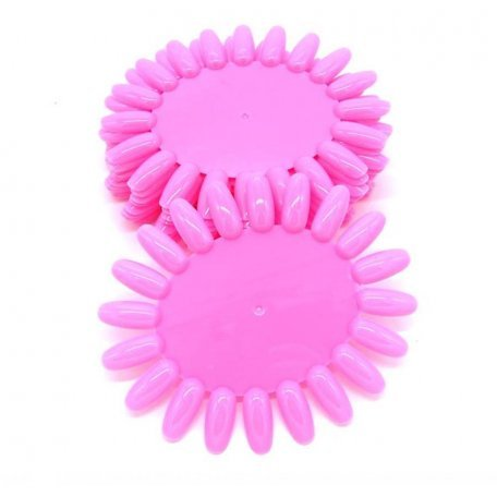 Палитры для лаков и гель-лаков - Палитра-ромашка розовая