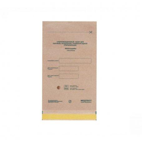 Пакеты для воздушной стерилизации 100х200мм (крафт) из крафт бумаги 100шт
