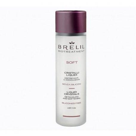"""Блеск для волос Brelil Professional """"Жидкие кристаллы"""" без силиконов 50 мл"""