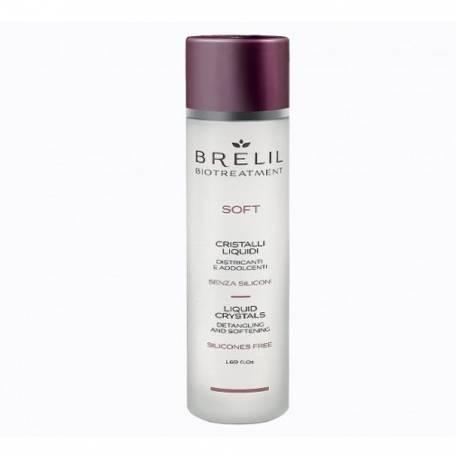 """Купить Блеск для волос Brelil Professional """"Жидкие кристаллы"""" без силиконов 50 мл"""
