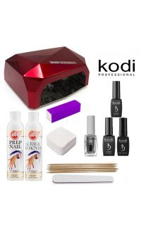 Стартовий набір гель лаків Kodi (c LED-CCFL лампою)