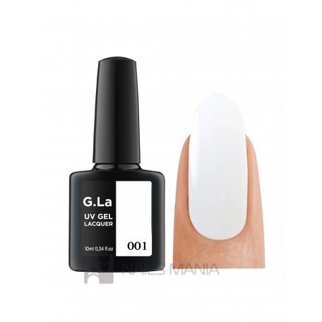 Гель-лаки G.La 10 мл (основная палитра) - Гель лак G.La color UV GEL LACQUER 001