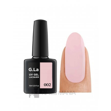 Гель-лаки G.La 10 мл (основная палитра) - Гель лак G.La color UV GEL LACQUER 002