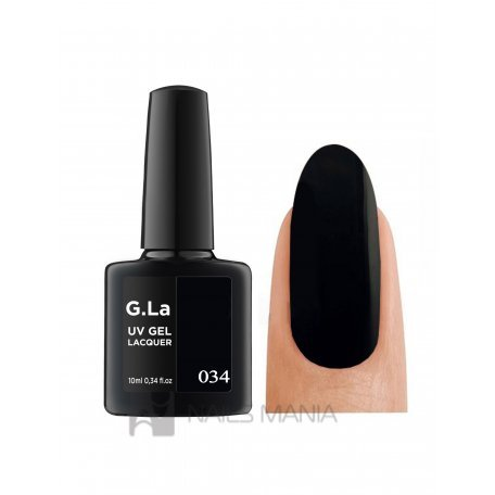 Гель-лаки G.La 10 мл (основная палитра) - Гель лак G.La color UV GEL LACQUER 034