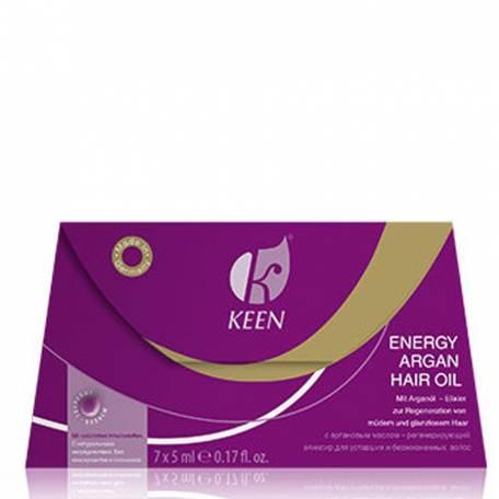Купить Энергетическое аргановое масло для волос ENERGY ARGAN HAIR OIL 5 мл х 7