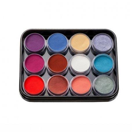 Наборы акрилов - Набор цветных акрилов L6 (12 шт)
