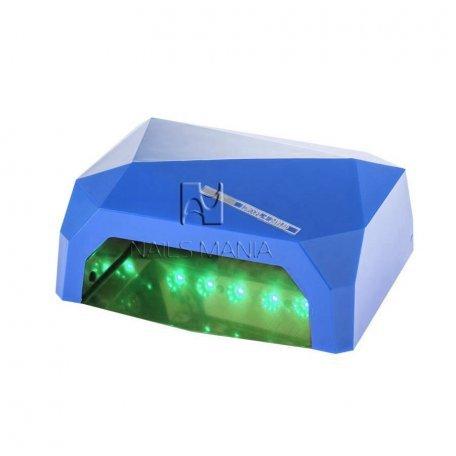 УФ LED+CCFL лампа (таймер 10, 30, 60 сек) 36 Вт (синяя)