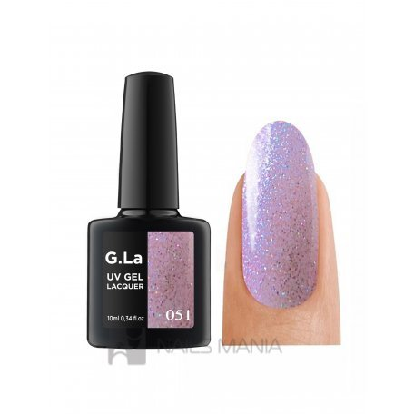 Гель-лаки G.La 10 мл (основная палитра) - Гель лак G.La color UV GEL LACQUER 051