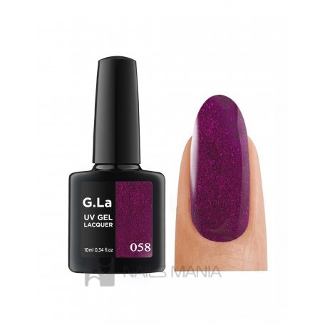 Гель-лаки G.La 10 мл (основная палитра) - Гель лак G.La color UV GEL LACQUER 058