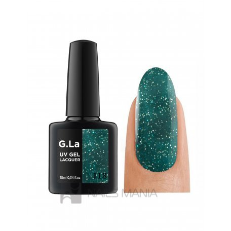 Гель-лак G.La color UV Gel Lacquer 118 (Зеленый), 10 мл