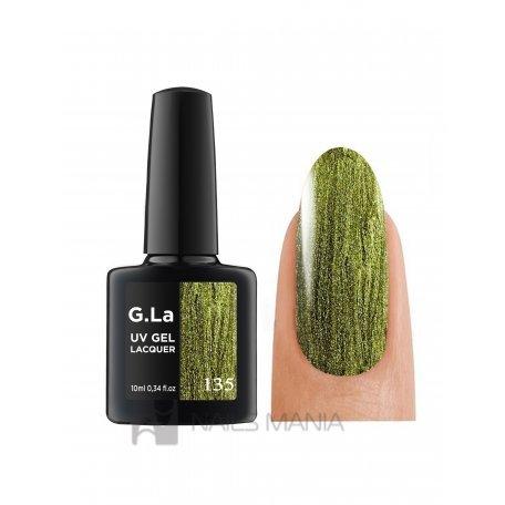 Гель-лак G.La color UV Gel Lacquer 135 (Зеленый), 10 мл