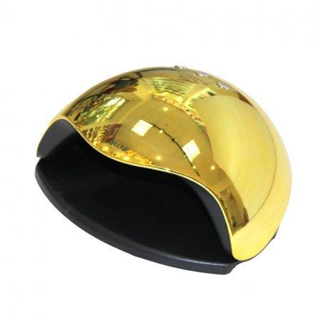 Уф LED лампы для маникюра - UF/LED лампа SUN5 Professional  48 ВТ (золотая)