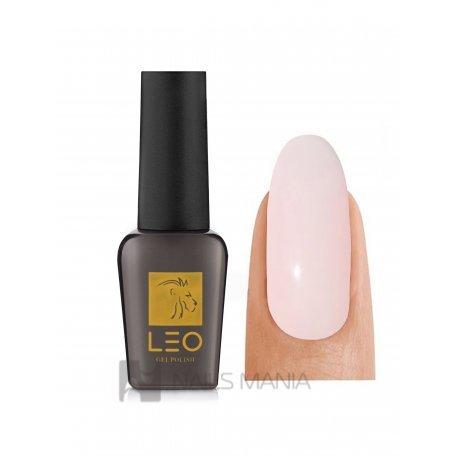 Гель-лаки LEO - Гель-лак Leo №040 (очень светлый молочный, эмаль), 9 мл