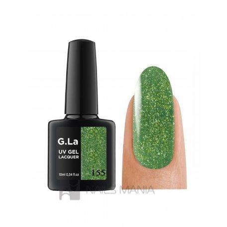 Гель-лак G.La color UV Gel Lacquer 155 (Зеленый), 10 мл