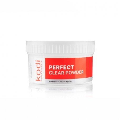 Базовые акрилы - Базовый Прозрачный Акрил Kodi Perfect Clear Powder  60 г.