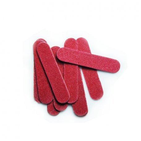 Набор мини-пилочек, 10 шт красные