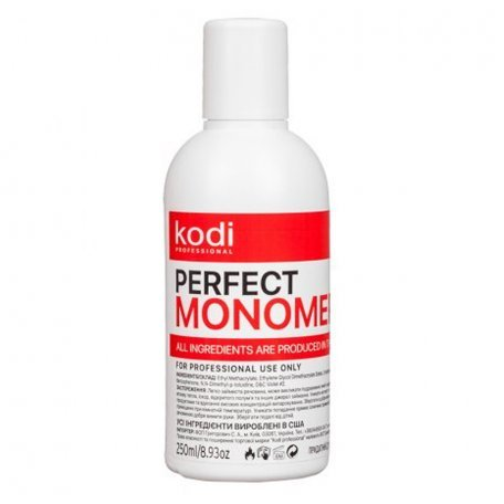 Мономеры - Прозрачный мономер Kodi Monomer Clear 250 мл